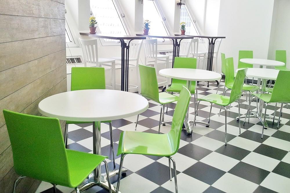 מכון הייצוא הישראלי חדר אוכל עובדים