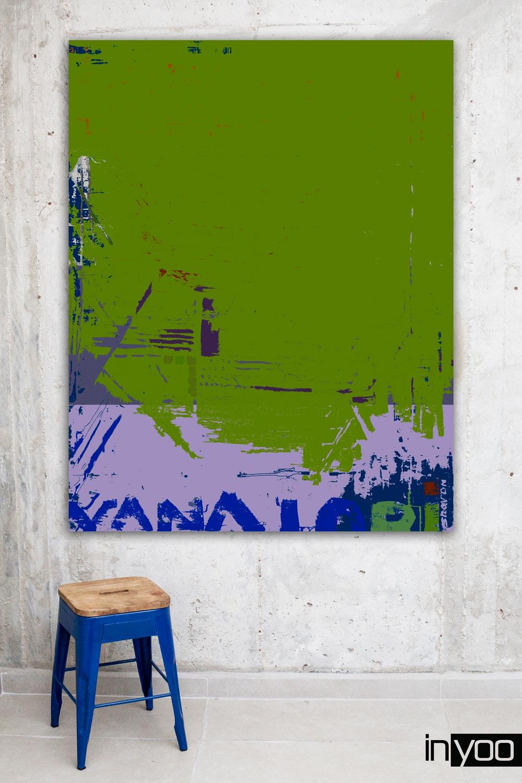 colorful-plaster עבודה צבעונית אבסטרקטית